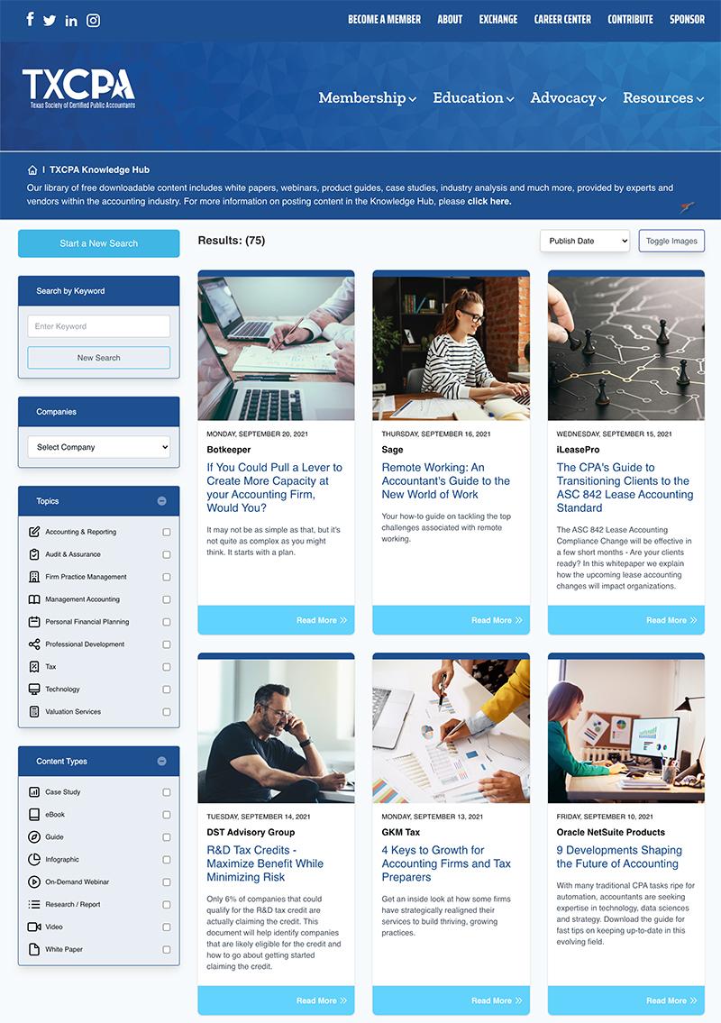 TXCPA Knowledge Hub